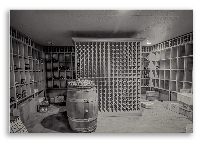 Image showing home wine storage.