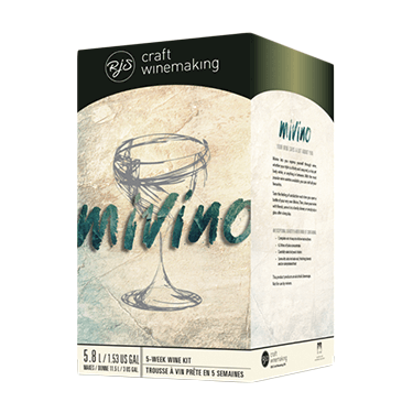 Image showing a wine kit called Mivino that allows you to blend 2 or more wines.