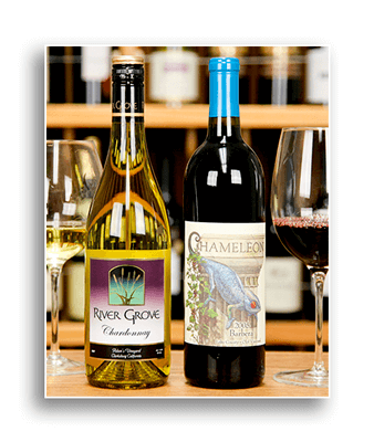 Image showing two bottles of wine