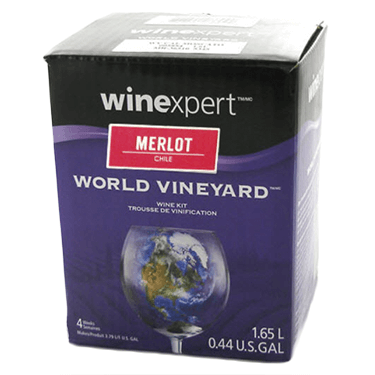 Image showing a one gallon wine concentrate kit.