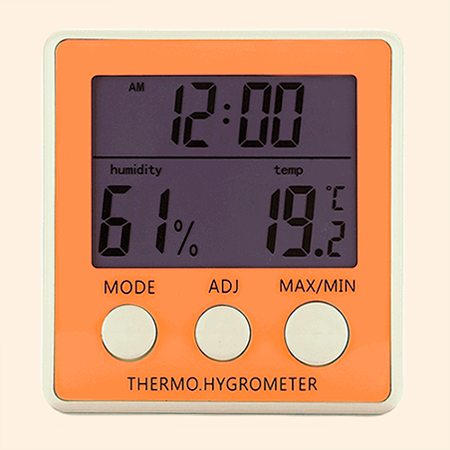 Image showing a thermo hygrometer.