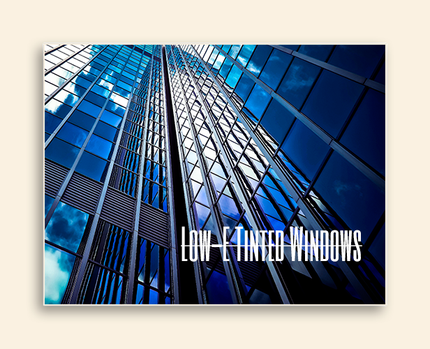 Image of tinted windows.